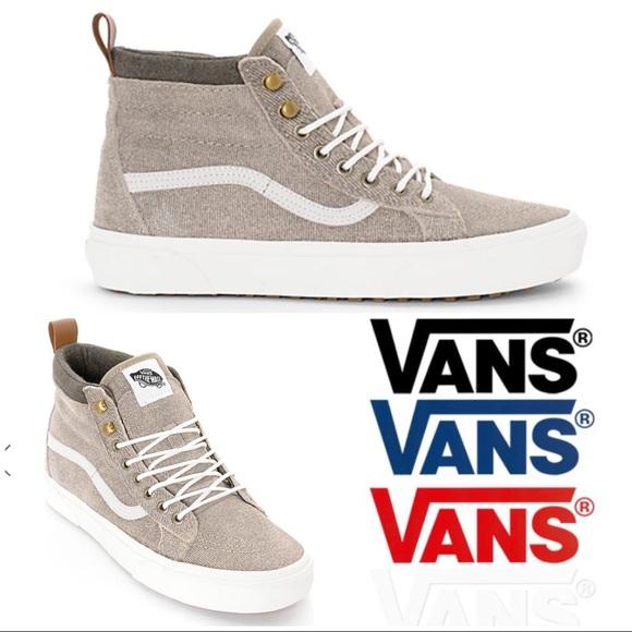 e8e26de9c643 Vans SK8-Hi MTE Denim Suede Coriander Shoes. Listing Price   45. Your Offer